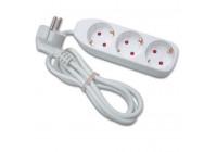 Socket with 3 sockets