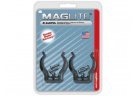 MAGLITE - WALL CLAMPS FOR ML / MAG-CHARGER / 2D / 3D - 2 pcs.