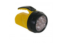Powerful LED flashlight - 9 LEDs - with 4 x AA batteries