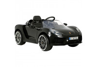 Accu-Auto Porsche 918 Spider Black - 12V - Incl. MP3 and remote control - from 3 years