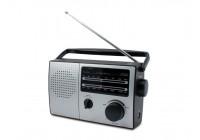 AC / DC portable AM / FM radio