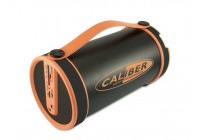 Portable Bluetooth® tube speaker with built-in battery