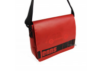 VW Beetle tarpaulin shoulder bag - red