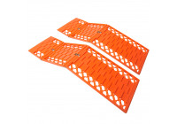 Anti-slip mat foldable set of 2 pieces