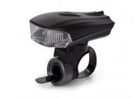 Cykel ljus med ljussensor - ALUMINIUM - laddningsbart via USB