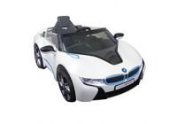 Batteri Bil BMW i8 Vit med fjärrkontroll