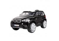 Batteri Bil BMW X5 svart med fjärrkontroll