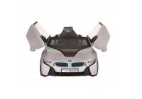 Batteribil BMW i8 Silver