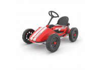 Monzi RS GoKart pedalbil Röd