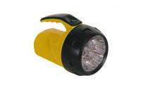 Kraftfull LED-ficklampa - 9 lysdioder - med 4 x AA-batterier