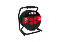 Professionell Neopren Cable Reel - 25m - 3G2.5 - 4 uttag