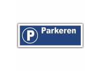 Board parkeringsplats 33x12cm