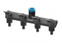 Cellfast 4-vägs vattenfördelare