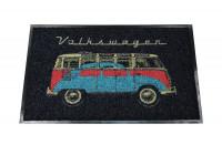 VW T1 Bus dörrmatta, 45 x 75cm och samba skalbagge