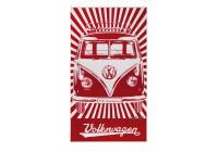 VW T1 strandhandoek - röd