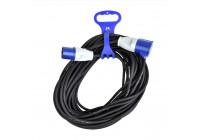 Kabelband med handtag för CEE förlängningskabel