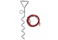 Konstruktion spiral med kabel 4,5M