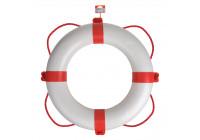 Lifebuoy à ~ 600mm, vit - röd
