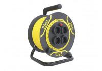 STANLEY - ENROULEUR DE CABLE PVC - 25 m - 3G1.5 - 4 SORTIES