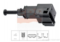 Interrupteur des feux de freins Made in Italy - OE Equivalent 1.810.151 EPS Facet