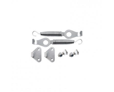 Simoni Racing Set universele motorkaphaken/-pins - RVS - Quick release