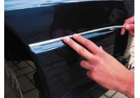 Universele zelfklevende chroomlijst - Breedte 12mm / Lengte 8 meter