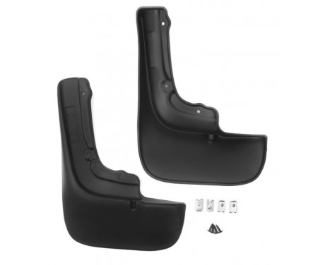 Mud flaps achter CITROEN Jumper/PEUGEOT Boxer  (with wing arch expander)