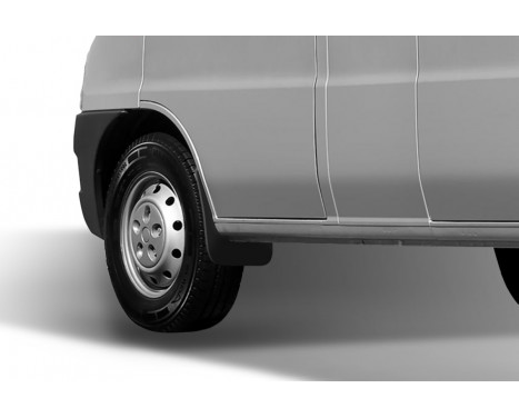 Mud flaps front Fiat Ducato 2000 -2012, Afbeelding 2