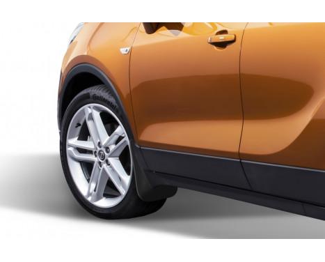 Mud flaps voorzijde Opel  Mokka 2012-> 2 pcs, Afbeelding 2