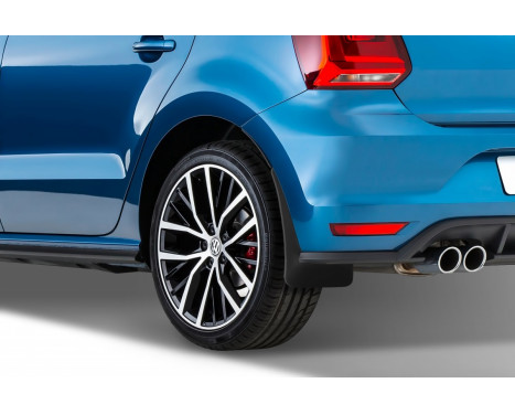 Spatlappenset achterzijde VW Polo 2009-2014, Afbeelding 2
