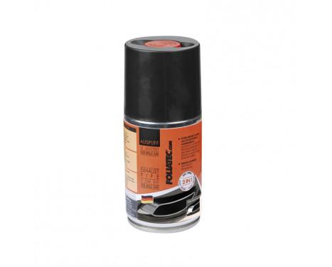 Foliatec Exhaust Pipe 2C Spray Paint - zwart glanzend 1x250ml