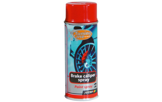 Motip Tuning-Line Remklauwlak Spray - rood - 400ml
