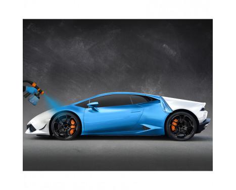 Foliatec Car Body Spray Film (Spuitfolie) - frozen blauw metallic mat - 5liter, Afbeelding 6