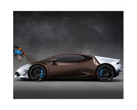 Foliatec Car Body Spray Film (Spuitfolie) - frozen bruin metallic mat - 5liter, Afbeelding 3