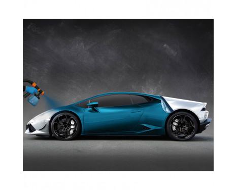 Foliatec Car Body Spray Film (Spuitfolie) - laguna blauw metallic mat - 5liter, Afbeelding 3
