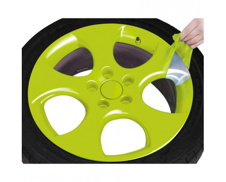 Foliatec Spray Film (Spuitfolie) Set - gif groen glanzend - 2x400ml, Afbeelding 5