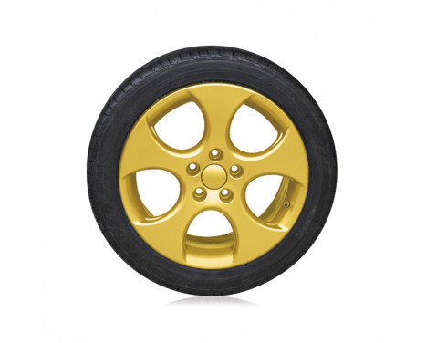 Foliatec Spray Film (Spuitfolie) Set - goud metallic - 2x400ml, Afbeelding 4