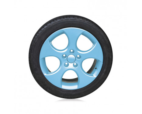 Foliatec Spray Film (Spuitfolie) Set - licht blauw glanzend - 2x400ml, Afbeelding 4