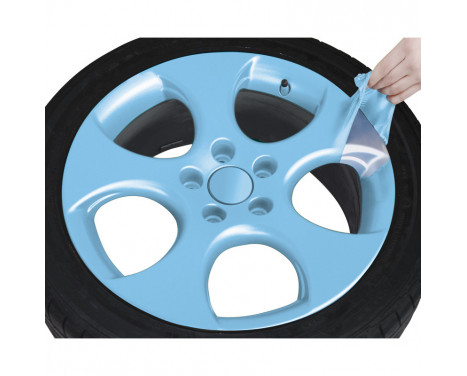 Foliatec Spray Film (Spuitfolie) Set - licht blauw glanzend - 2x400ml, Afbeelding 6