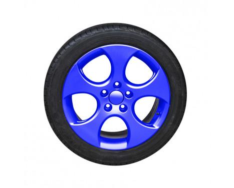 Foliatec Spray Film (Spuitfolie) set - NEON blauw - 4delig, Afbeelding 6