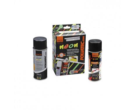 Foliatec Spray Film (Spuitfolie) set - NEON rood - 2delig, Afbeelding 2