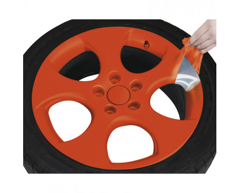 Foliatec Spray Film (Spuitfolie) Set - oranje mat - 2x400ml, Afbeelding 6
