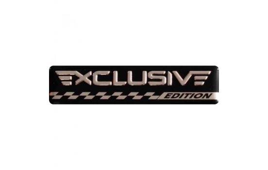 Aluminium Embleem/Logo - EXCLUSIVE EDITION - 7x1,7cm