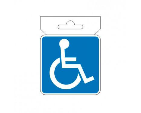 AutoTattoo Sticker Handycap - 7x7cm