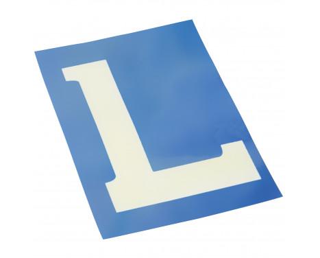 Electrostatisch label 'L'