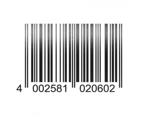 Foliatec Cardesign Sticker - Code - zwart mat - 37x24cm