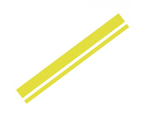 Foliatec Cardesign Sticker - Lines - neon geel - 150x5,8cm
