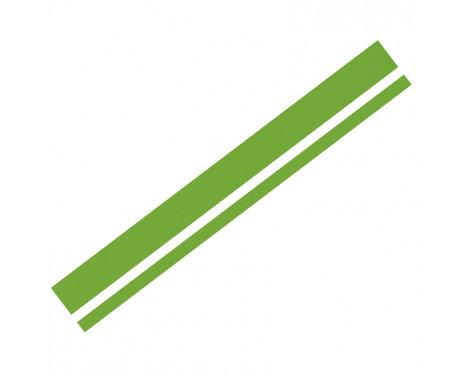 Foliatec Cardesign Sticker - Lines - neon groen - 150x5,8cm