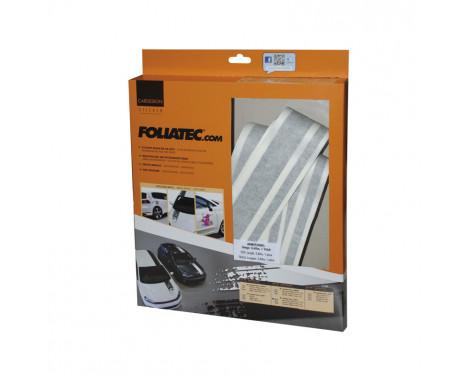 Foliatec Cardesign Sticker - Lines - zwart mat - 150x5,8cm, Afbeelding 3