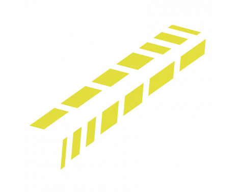 Foliatec Cardesign Sticker - Shades - neon geel - 77x9cm - 2 stuks